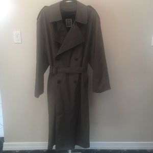 Christian Dior Lined Trench Rain Coat (42R)